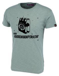 DERBE HAMBURG M-04-TSFL-HERRENHANDTASCHE Herren T-Shirt, Größe:M, Derbe Hamburg Farben:Quarry