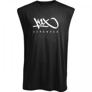 K1X Hardwood Sleeveless Basketball Tee mk3, Farbe:Schwarz, Kleidergröße:L