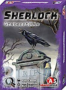 Sherlock - Grabesstille, Kartenspiel (DE), für 1 bis 8 Spieler, ab 12 Jahren