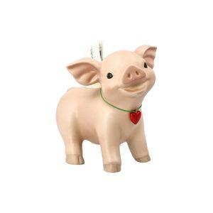Goebel Weihnachten - Glücksbringer 'Sparschwein Rosi - 13,5 cm'