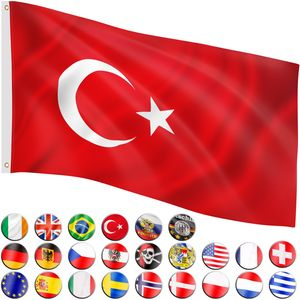 FLAGMASTER® Fahne Türkei Flagge