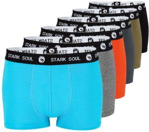 Stark Soul® Boxershorts - Hipster im 6er Pack L Gemischt