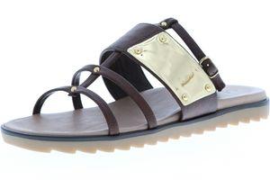 Vista Damen Sandaletten braun, Größe:41, Farbe:Braun