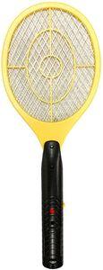 Elektronische Fliegenklatsche, Wiederaufladbar über USB, gegen Mücken, Fliegen und Käfer,superhelles LED-Licht
