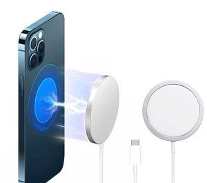 Für Apple iPhone 12 / 12 Pro/Max/Mini MagSafe 15W magnetisches Schnellladegerät Pad iPhone 13