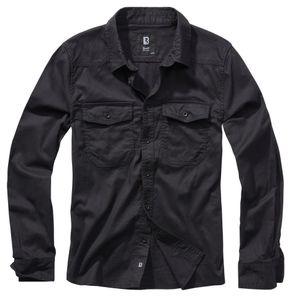 Brandit Check Shirt, Größe:3XL, Farbe:Schwarz