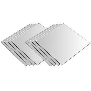 8 Stück Spiegelfliesen je 20,5x20,5cm
