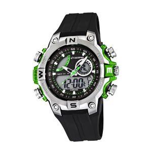 Calypso Kunststoff PUR Jugend Uhr K5586/3 Armbanduhr schwarz Digital D2UK5586/3