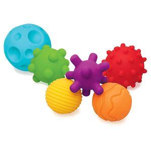 Textured Multi Ball Set – Texturierte Bälle im Set für die sensorische Entwicklung – Für Kinder ab 6 Monaten