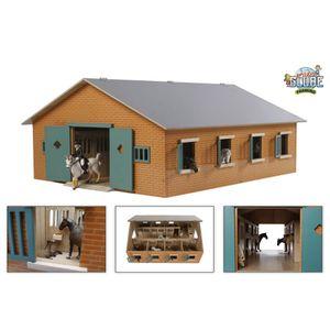 Van Manen Pferdestall mit 7 Boxen  72,5x60x37,5 cm passend für Schleich & Bully