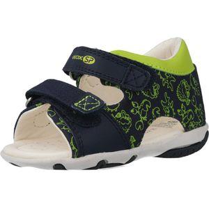 GEOX Elba - Kinder klassische Sandale Blau Schuhe, Größe:19
