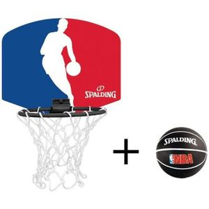 Spalding Miniboard NBA Logoman, (77-602Z)  - Größe: NOSIZE, 3001579013017