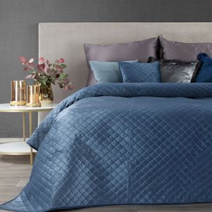 Tagesdecke ARIEL 220X240 cm Blau