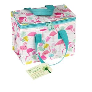 Kinder Kühltasche Thermotasche - recycled - Lunchbag Kühlbox Flamingo