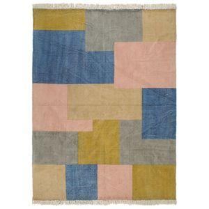 Klassisch Kelim-Teppich Handgewebt Baumwolle 120×180 cm Bedruckt|Wohnzimmerteppich, Designerteppich, Hochflorteppich, Webteppich