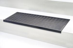 5 Stck Stufenmatte Trapa schwarz Jet-Line Stufenmatte Antirutschmatten Außenbereiche schwarz Stufenmatte Treppenstufen Matte außen Garten antirutschmatte Treppenmatten Rutschhemmend 75x25 cm Jet-Line Outdoor Garten