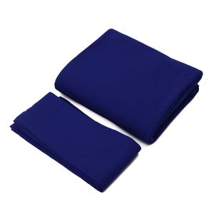 Pool Billard Tuch Billardtuch für 9 ft Billardtisch, Farbe: Blau