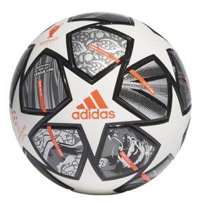 adidas Fussball Finale 21 20th Anniversary UCL Junior 290 League Ball weiss, Größe:5
