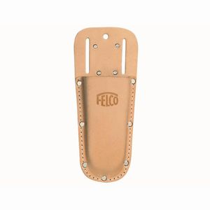FELCO 910- Lederträger Nr. 910 mit Gürtelklammer, natur