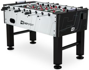 Hop-Sport Kickertisch Evolution Tischkicker Tischfußball 2 Torzähler Justierbare Füße