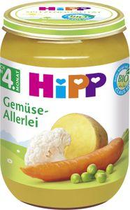 HiPP Gemüse nach dem 4.Monat, Gemüse-Allerlei, DE-ÖKO-037 - VE 190g