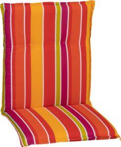 beo Saumauflage Niedriglehner Bunte Streifen rot-pink-gelb