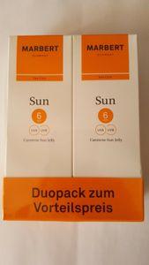 MARBERT Carotene Sun Jelly Bräunungsgel für Gesicht und Körper 2x100 ml
