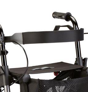Standard-Rückengurt/Rückenlehne mit leichter Polsterung für Leichtgewicht-Rollatoren der Taima-Reihe