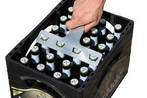 4er Flaschenöffner für 0,3L Flaschen  - Der ultimative Flaschenöffner aus Edelstahl für echte Biertrinker So schnell hattest du noch nie vier Bier gleichzeitig auf