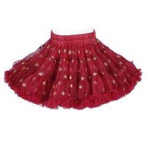 Kinder Mädchen Ballett Tutu Kleinkind Ballett Tutu Petticoat Party Dress Up Kostüm,Farbe:Rot