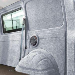 Innenverkleidung Verkleidung Filz Vlies Silber 4x2m passend für VW T6 T5 T4