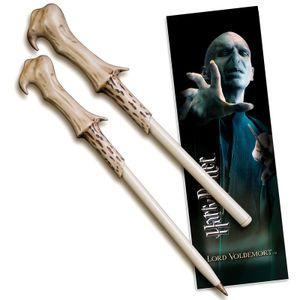 Noble Collection Harry Potter Kugelschreiber & Lesezeichen Lord Voldemort NOB8638