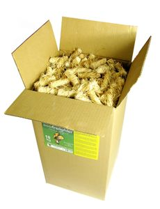 Feniks Anzünder 10 KG Karton Bioanzünder Öko Grillanzünder Kaminanzünder Holz