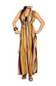 APART Maxi-Doppelkleid, Erdtöne Kleider Größe: 36/38