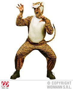 Kostüm Tiger - Tigerkostüm Gr. L  - Tigerkleid Tigerverkleidung Tiger Mann