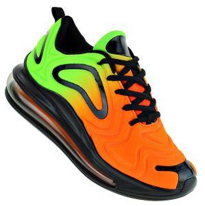 Art 537 Neon Luftpolster Turnschuhe Schuhe Sneaker Sportschuhe Neu Unisex, Schuhgröße:44