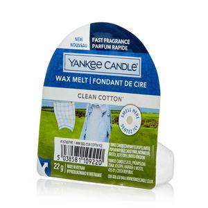 Yankee Candle Clean Baumwolle Wax Melt Duftwachs 22 g