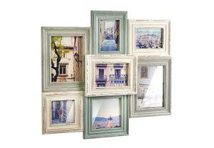 Bilderrahmen Collage Bilderhalter VINTAGE für 7 Bilder