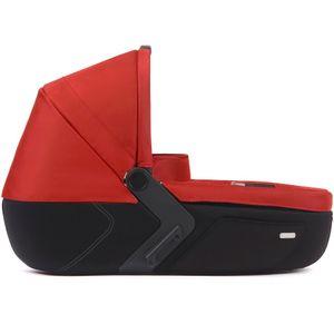 Mutsy Igo Lite, Traditioneller Kinderwagen, 1 Sitz(e), Schwarz, Rot, Flach, Feste Räder, 580 mm