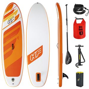 SUP Stand Up Paddle Board |100kg|Drybag|274x76x12cm|Surfbrett aufblasbar iSUP Leash Paddel