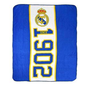 Real Madrid FC Established Fleece-Decke SI197 (Einheitsgröße) (Blau)