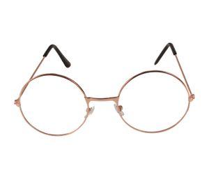 Santa Claus Brille Vintage Ohne Stärke, Farbe wählen:rosegold