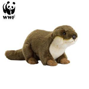 WWF Plüschtier Europäischer Fischotter (20cm) lebensecht Kuscheltier Stofftier