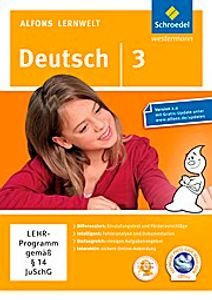 Alfons Lernwelt Lernsoftware Deutsch 3. DVR-ROM