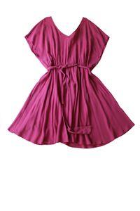American Vintage Damen Freizeitkleid Nalastate Größe L Pink #CC26