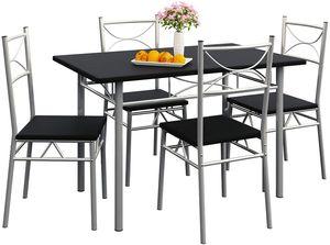 Esstisch Küchentisch mit 4 Stühlen Esszimmer Set Küchentisch Stuhl Set