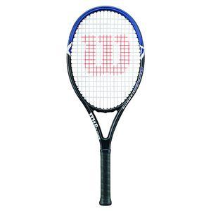 Wilson Hyper Hammer 2.3 (besaitet) 231g Tennisschläger Schwarz/Blau, Größe:1
