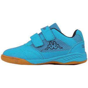 Kappa Indoor KICKOFF OC K Kinder Hallenschuhe blau 260695K 6211, Schuhgröße:35 EU