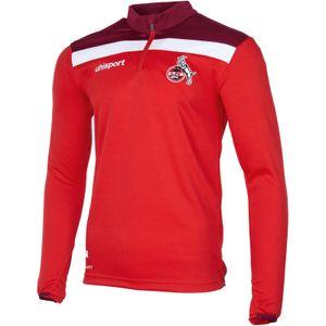 uhlsport 1. FC Köln Offense 23 1/4 Zip-Sweatshirt rot/weiß L