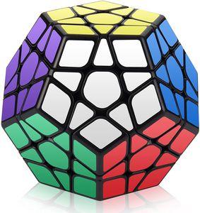 Speed Cube, Megaminx Speed Cube of Magic, leicht zu drehender und glatter Speedcube (Megaminx Black)